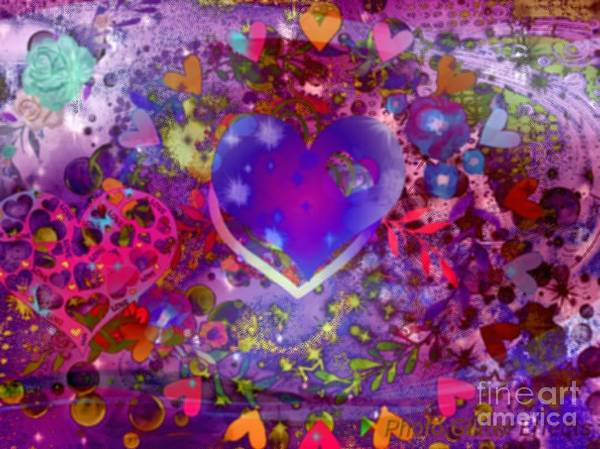 Wall Art - Digital Art - Spring Heart by Free Spirit
