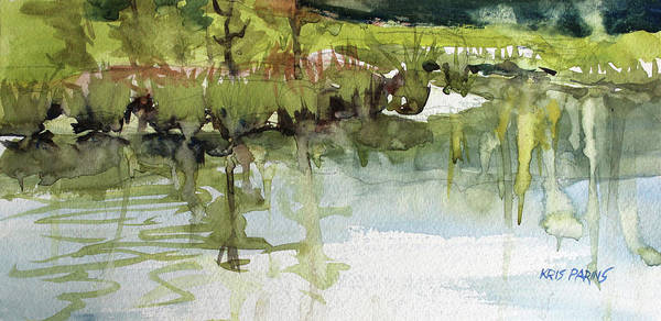 Wall Art - Painting - Spring Impression by Kris Parins
