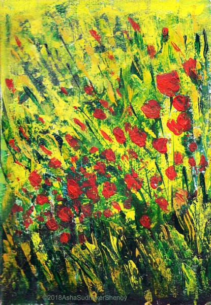 Painting - Spring In The Air by Asha Sudhaker Shenoy