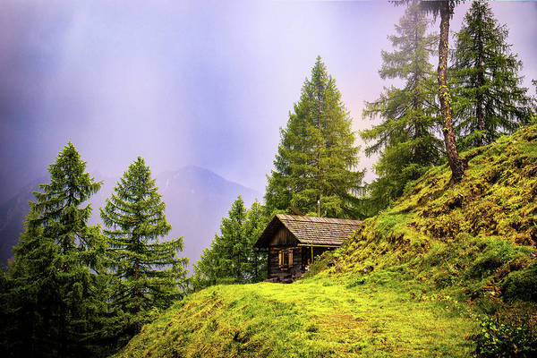 Photograph - Spring In The Alps by Movie Poster Prints