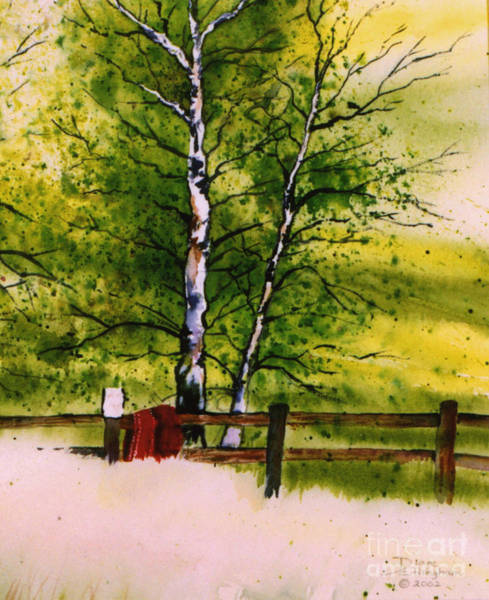 Painting - Spring In The Paddock by Diane Ellingham