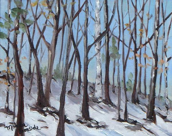 Painting - Spring Is Near by Monica Ironside