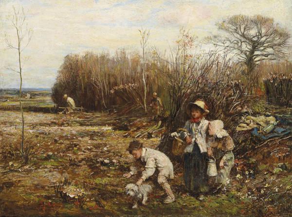 Painting - Spring by John Robertson Reid