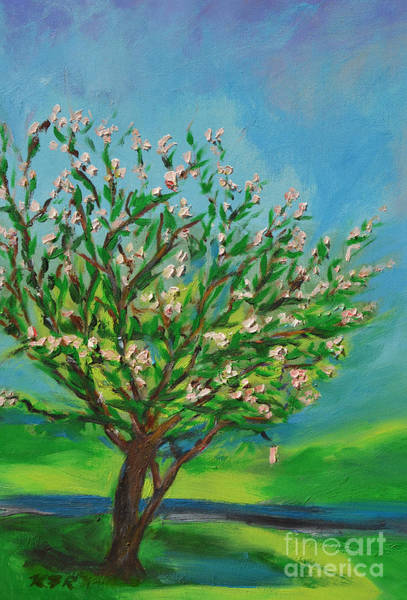 Wall Art - Painting - Spring by Karen Francis