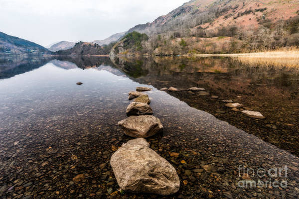 North Wales Wall Art - Photograph - Spring Lake by Adrian Evans