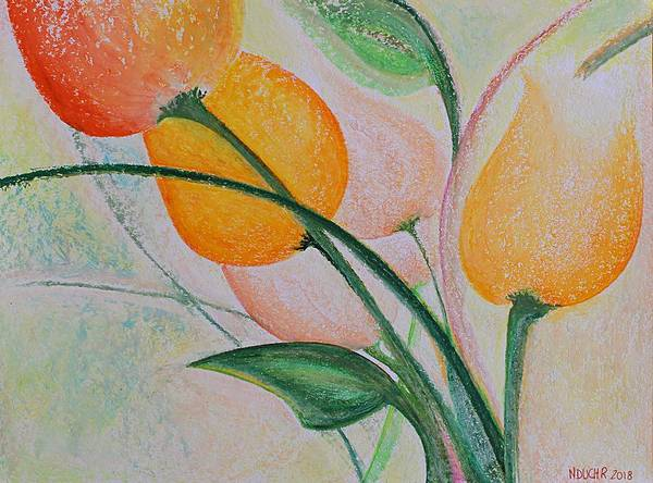 Pastel - Spring Light by Norma Duch