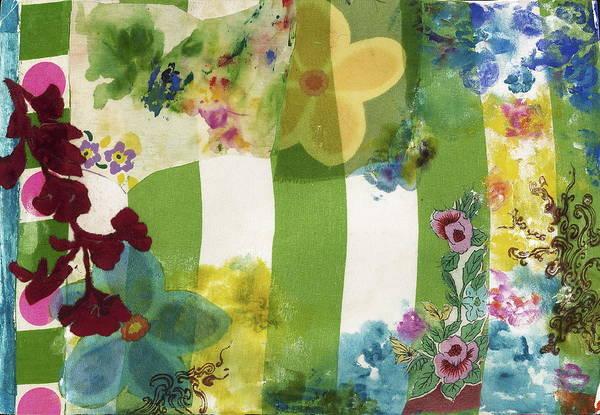 Stripe Mixed Media - Spring Magic by Gloria Von Sperling
