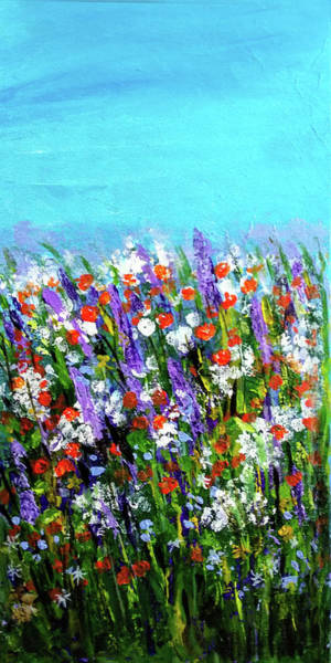 Painting - Spring Meadow by Asha Sudhaker Shenoy