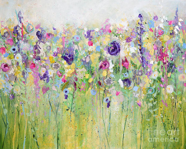 Painting - Spring Meadow I by Tracy-Ann Marrison