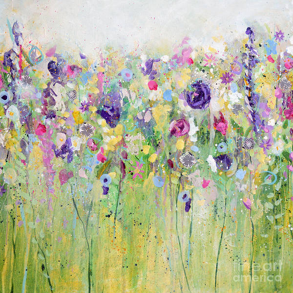 Painting - Spring Meadow II by Tracy-Ann Marrison