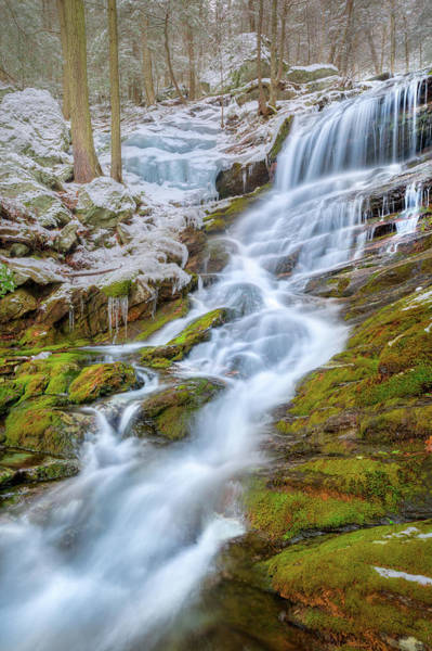 Photograph - Spring Melting by Bill Wakeley
