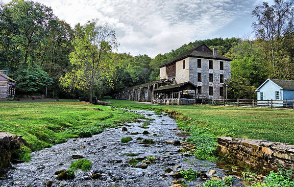Photograph - Spring Mill State Park by Sandy Keeton