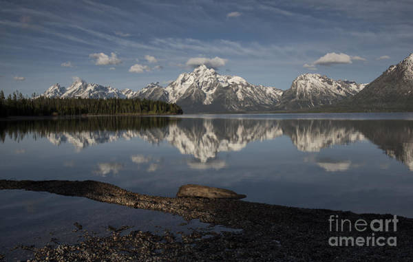 Wall Art - Photograph - Spring Morning At Colter Bay - Grand Teton National Park by Sandra Bronstein