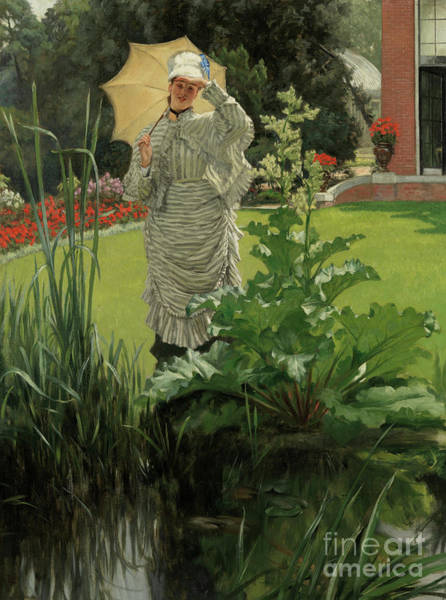 Painting - Spring Morning Circa 1875 by James Jacques Joseph Tissot