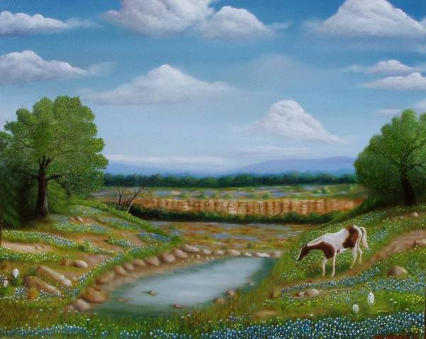 Painting - Spring Morning by Gene Gregory