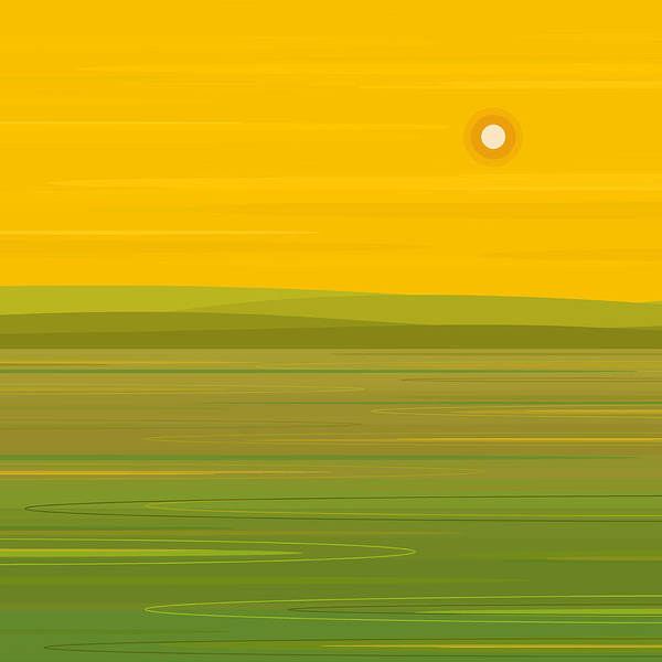 Digital Art - Spring Morning - Square by Val Arie