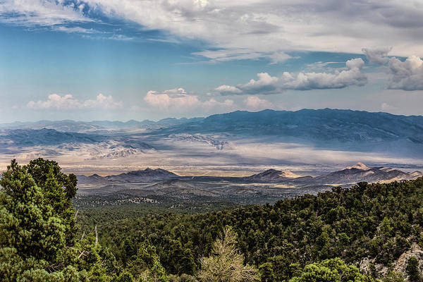 Photograph - Spring Mountains Desert View by Michael Rogers