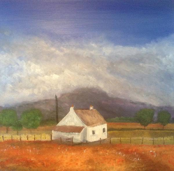 Wall Art - Painting - Spring On The Isle Of Mull by Scott Brennan