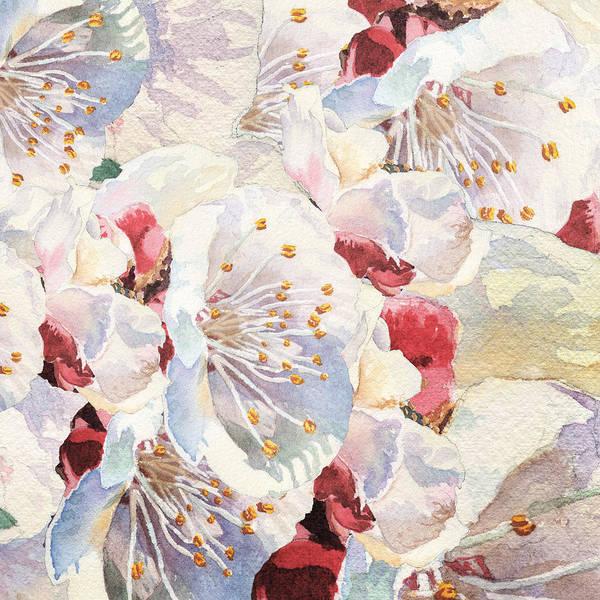 Painting - Spring Petals Abstract by Irina Sztukowski