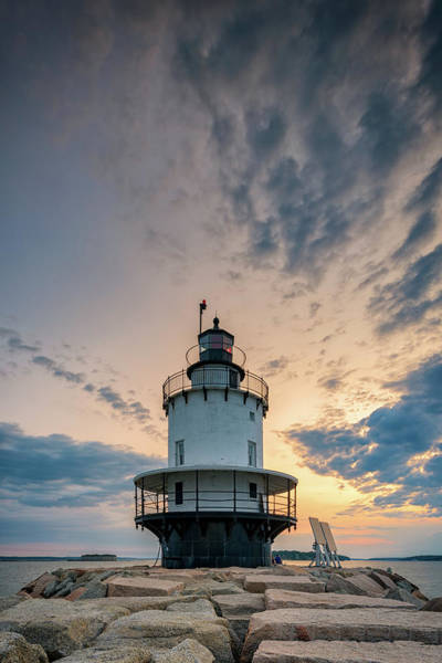 Photograph - Spring Point Ledge Light On A Summer Morning by Rick Berk