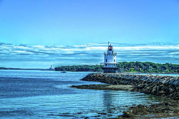 Casco Bay Photograph - Spring Point Ledge Light Portland Maine by Gestalt Imagery
