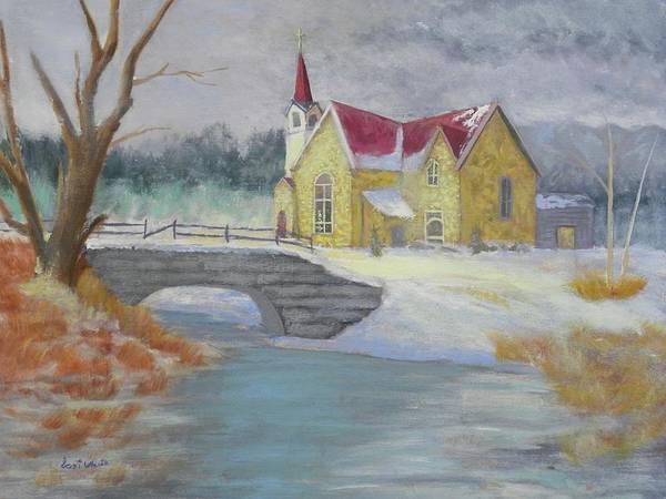 Painting - Spring Prayer by Scott W White