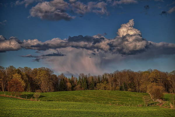 Photograph - Spring Rain Cloud by Dale Kauzlaric