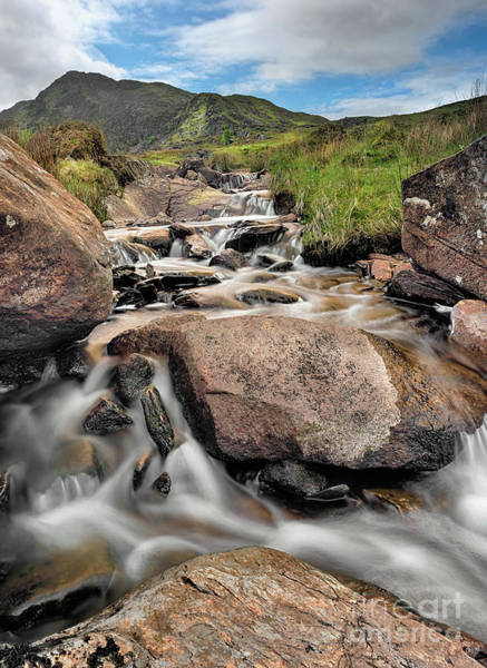 Brook Photograph - Spring Rapids by Adrian Evans