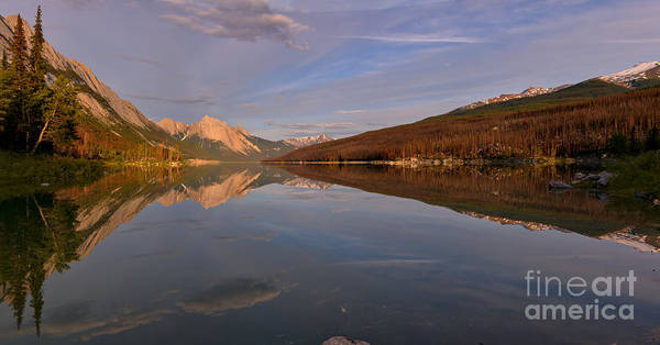 Photograph - Spring Reflections At Medicine Lake by Adam Jewell
