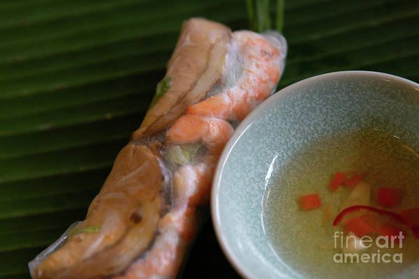 Quang Nam Province Photograph - Spring Roll With Pork And Shrimp by Lisa Top