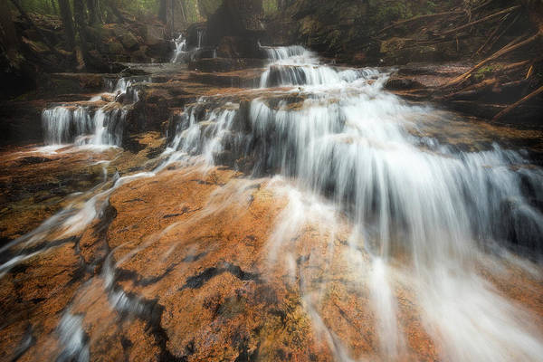 Wall Art - Photograph - Spring Runoff - Acadia National Park by Jeff Bazinet