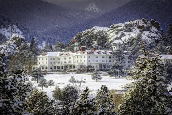 Wall Art - Photograph - Spring Snow At The Stanley by G Wigler