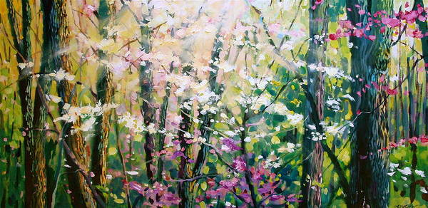 Painting - Spring Song by David Lobenberg