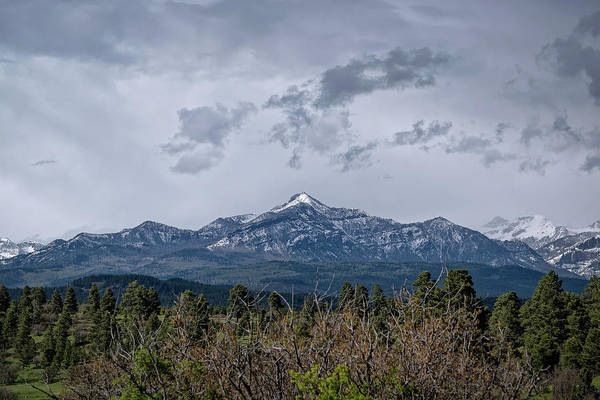 Photograph - Spring Storm Behind Pagosa Peak by Jason Coward