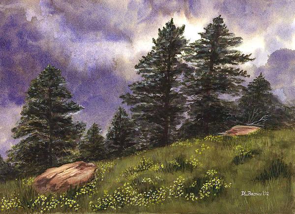Painting - Spring Storm by Deborah Brown Maher