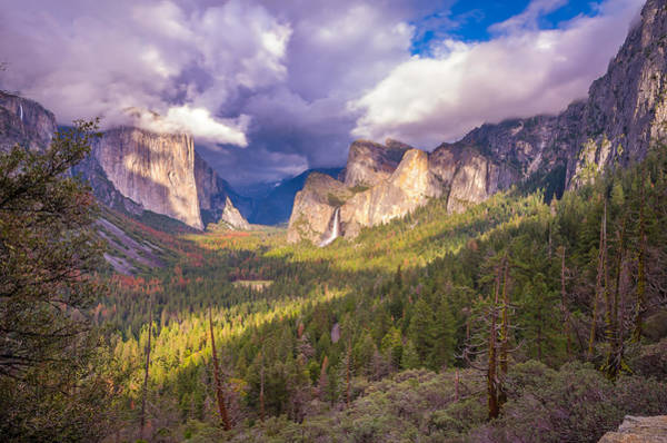 Photograph - Spring Storm In Yosemite Valley by Scott McGuire