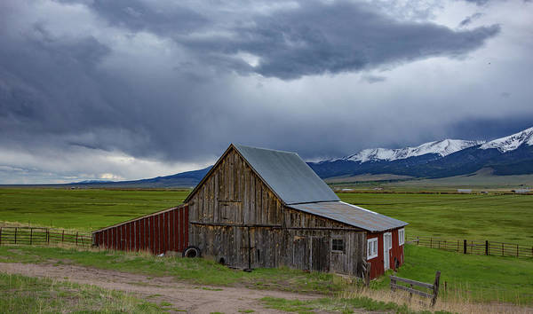 Wall Art - Photograph - Spring Storm Looms Above The Wet Mountain Valley by Bridget Calip