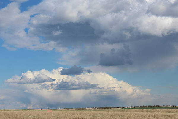 Wall Art - Photograph - Spring Storms Over Flint Hills by Weathered Wood