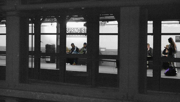 Photograph - Spring Street Station by Frank Mari
