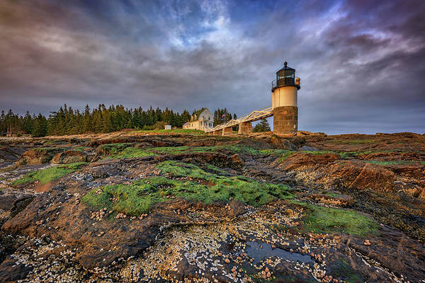 Photograph - Spring Sunset At Marshall Point by Rick Berk