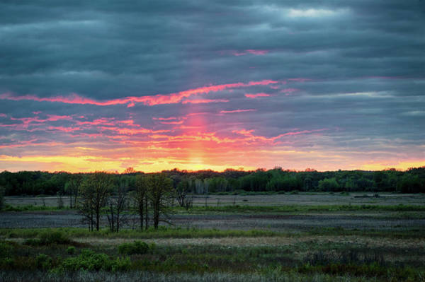 Photograph - Spring Sunset by Dan Hefle