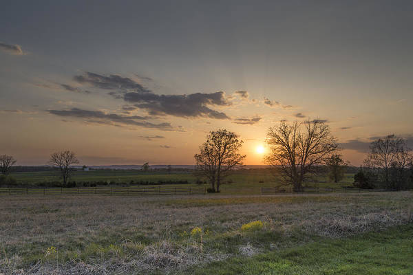 Wall Art - Photograph - Spring Sunset by Dave Sandt
