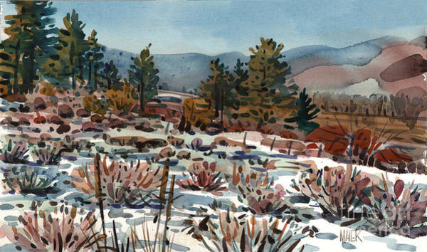 Sierra Nevada Painting - Spring Thaw by Donald Maier
