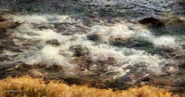 Painting - Spring Tide by RC DeWinter