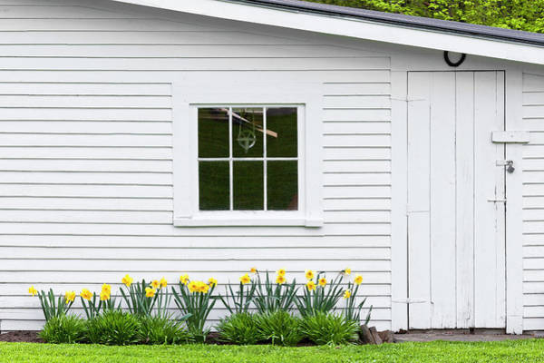 Toolshed Wall Art - Photograph - Spring Toolshed by Alan L Graham