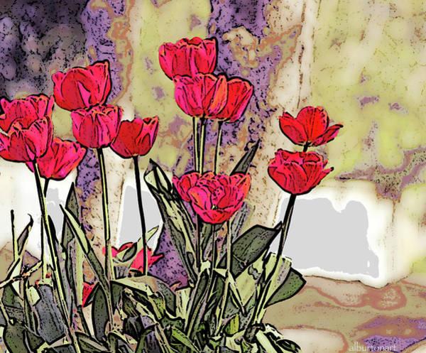 Photograph - Spring Tulips by April Burton