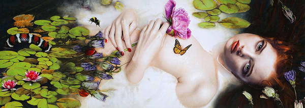 Insect Mixed Media - Spring by Vic Lee