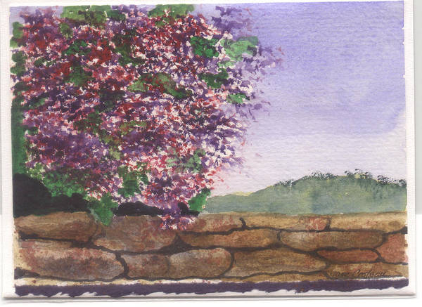 Painting - Spring Wall by Jane Croteau