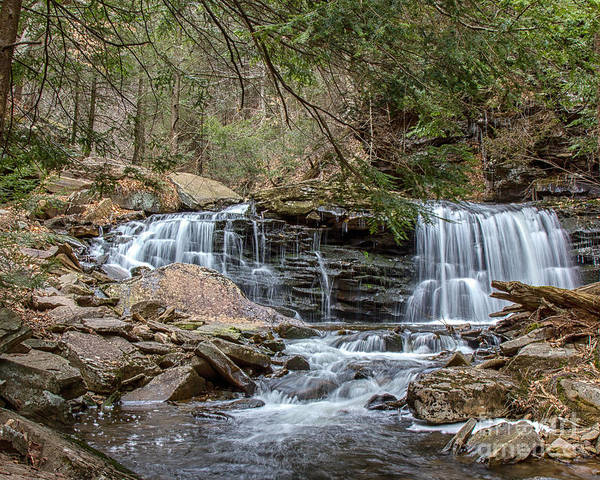 Photograph - Spring Waterfalls by Rod Best