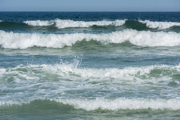 Photograph - Spring Waves Seaside New Jersey by Terry DeLuco